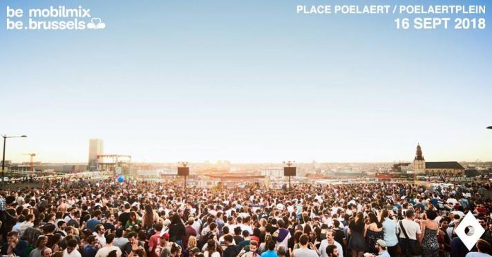 Molbix Open Air– Place Poelaert