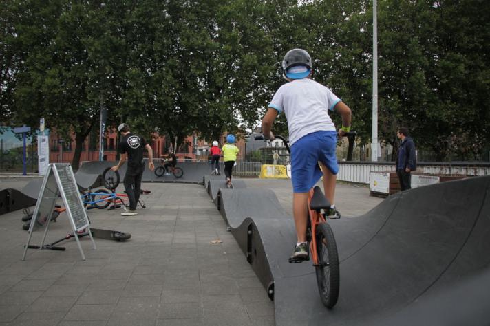 Kidz on wheelz– Place Sainctelette