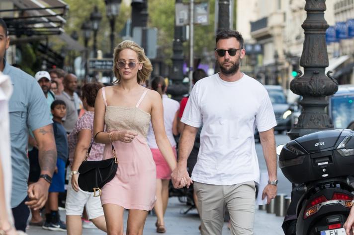 Hij ontmoette Jennifer via een gemeenschappelijke vriendin.