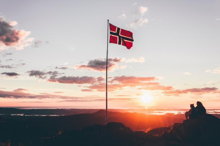 Les routes norvégiennes