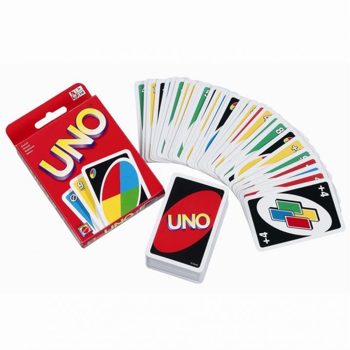 Le jeu Uno