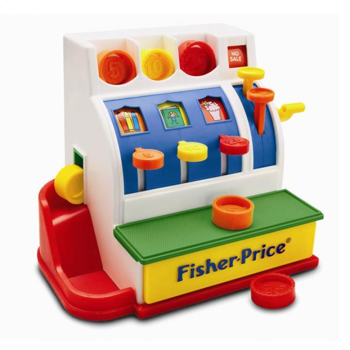 La caisse enregistreuse Fisher-Price