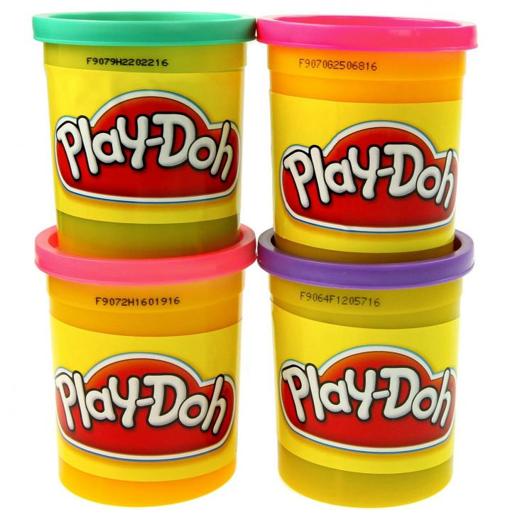 Les plasticines Play Doh