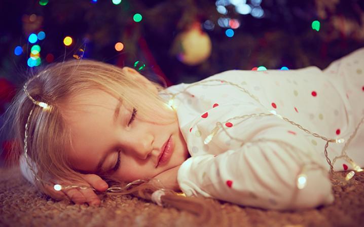 slapen kind