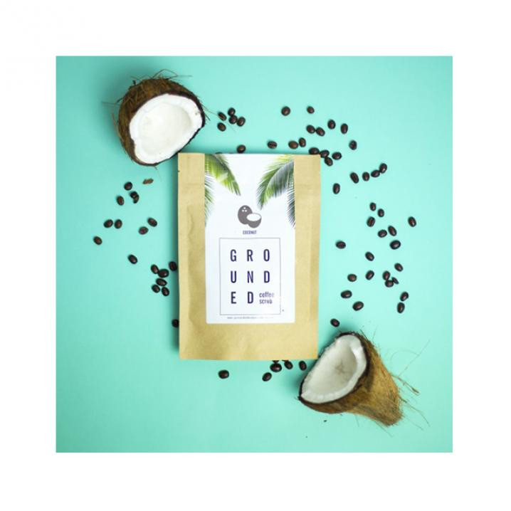 Grounded Coconut Coffee Scrub