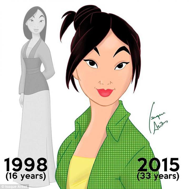 Mulan was 16 jaar in 1998.