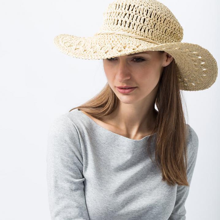Gevlochten hoed