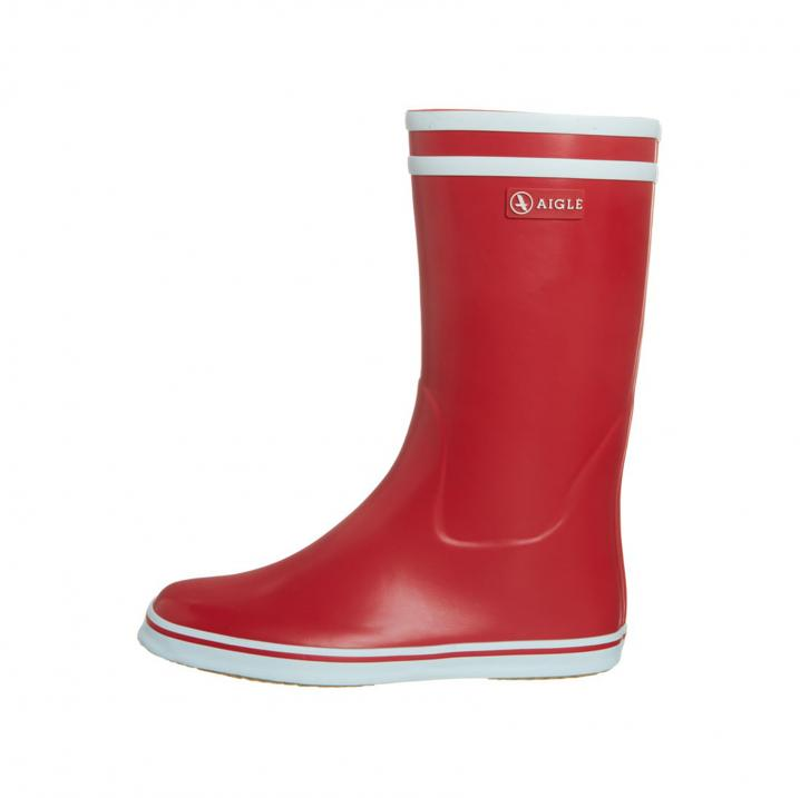 Rode regenlaars