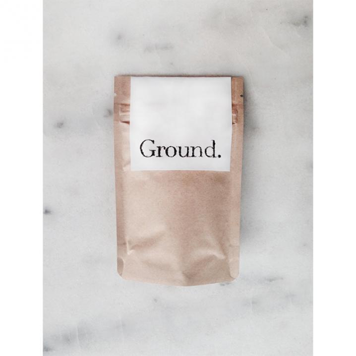 Ground. Coffee Scrub Original.