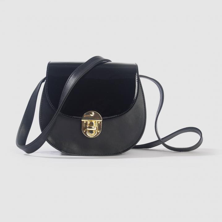 Zwart handtasje