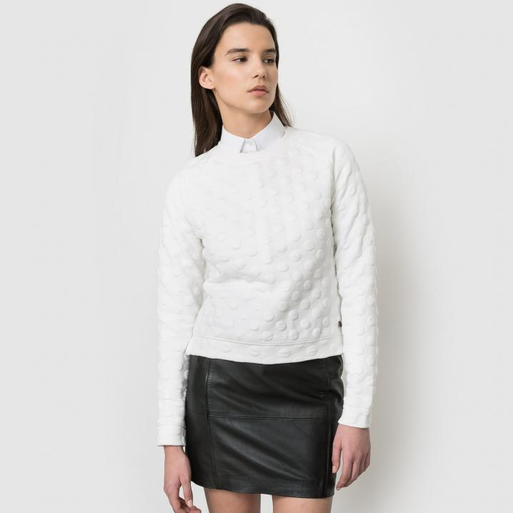 Witte sweater
