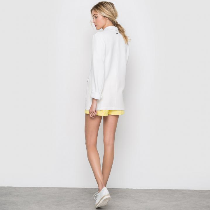 Witte oversized blazer