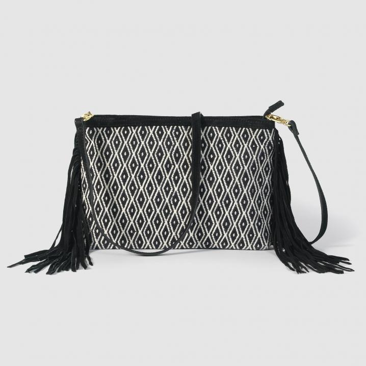 Zwart-witte tas
