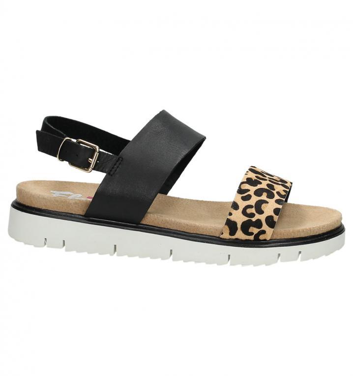 Sandaal met witte zool