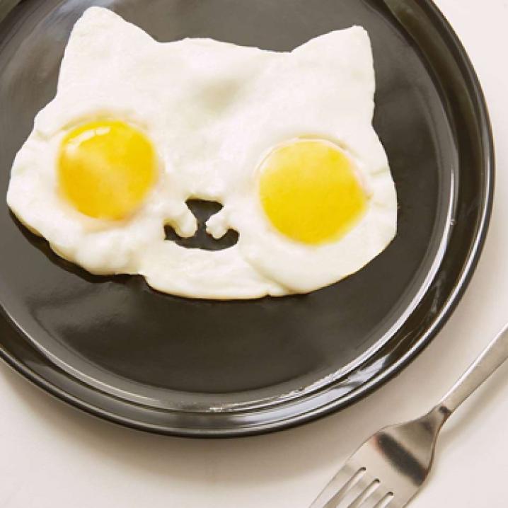 Bakvormpje in de vorm van een kat