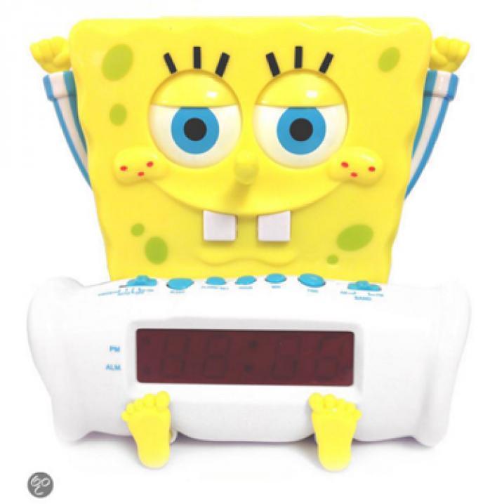 Wekker van Spongebob