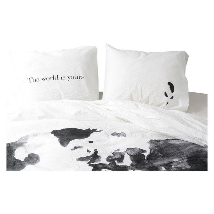 Crisp Sheets 'The World is Yours'-dekbedovertrek