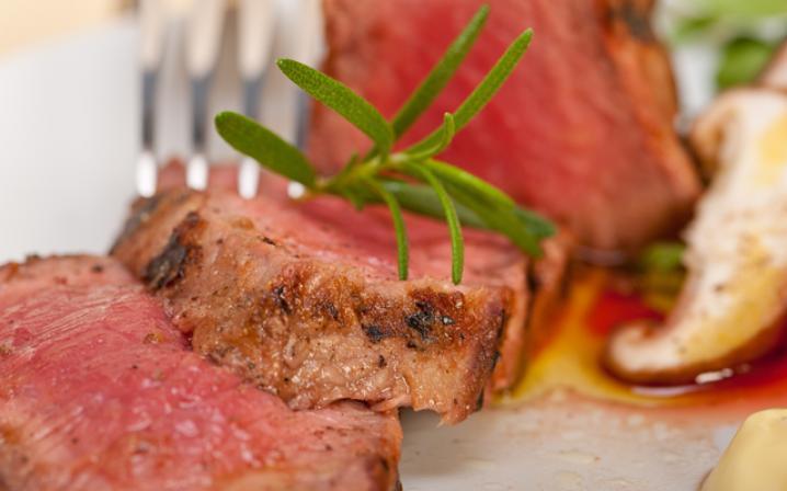 La viande rouge