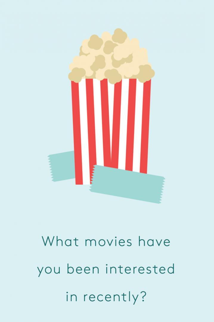 Welke films zag je het laatst?