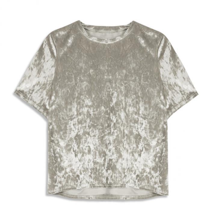 Zilverkleurig T-shirt