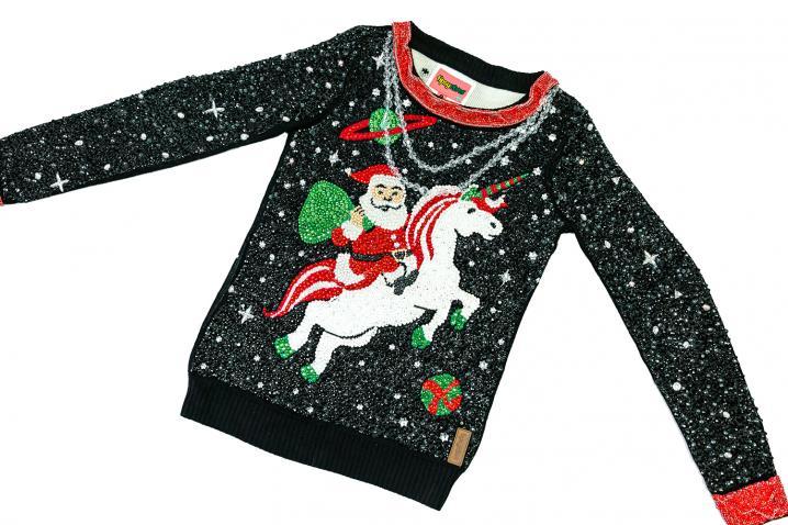 Ugly Kersttrui.Ugly Christmas Sweater Day Dit Is De Duurste Lelijkste