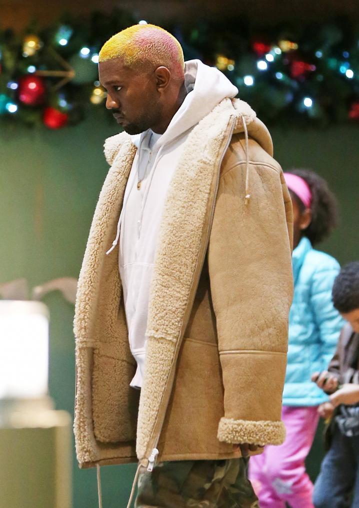 Kanye West Blond