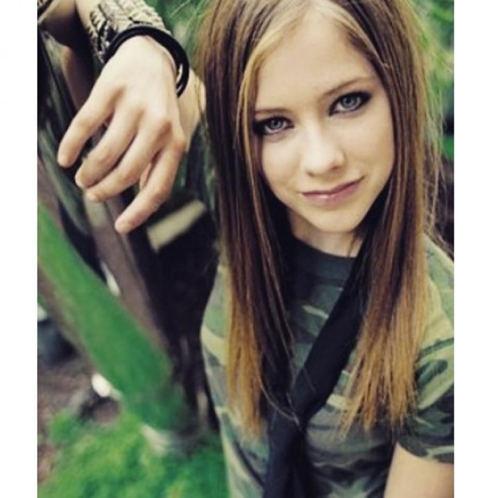 Een stropdas à la Avril Lavigne