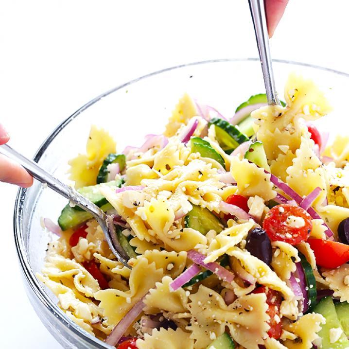 Vaak Dagen Zonder Vlees - Dag 11: mediterrane pastasalade @PJ33