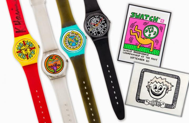 Swatch x Keith Haring