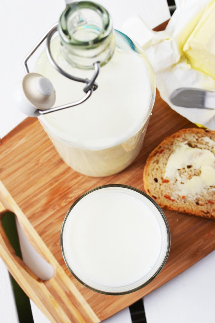 geen melkproducten eten