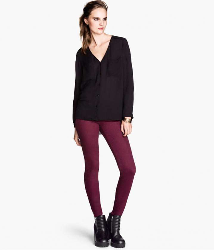 Pantalon skinny H&M, 19,95 €