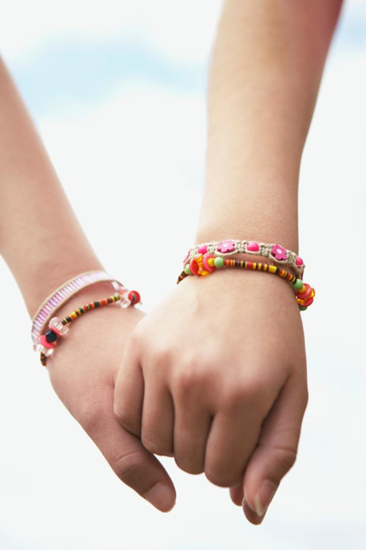 Un bracelet de l'amitié