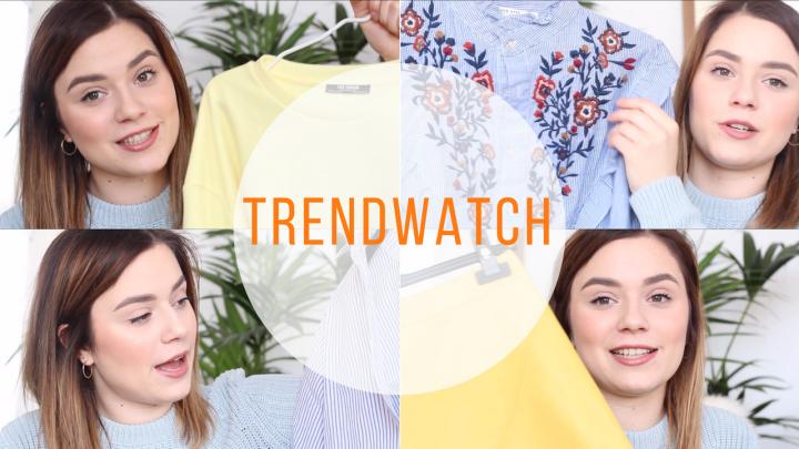 trends voor de lente
