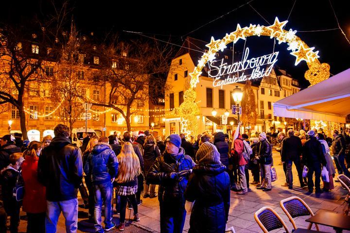 Kerstmarkt Strasbourg