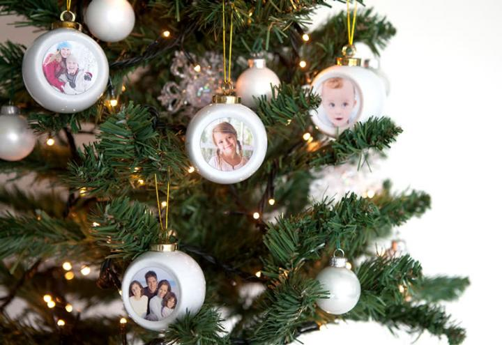 Gepersonaliseerde kerstballen