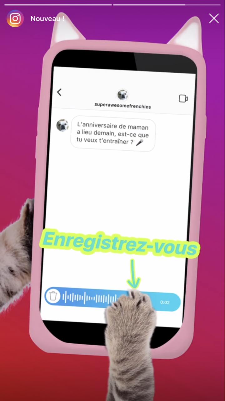 Instagram Les Messages Vocaux Debarquent Enfin
