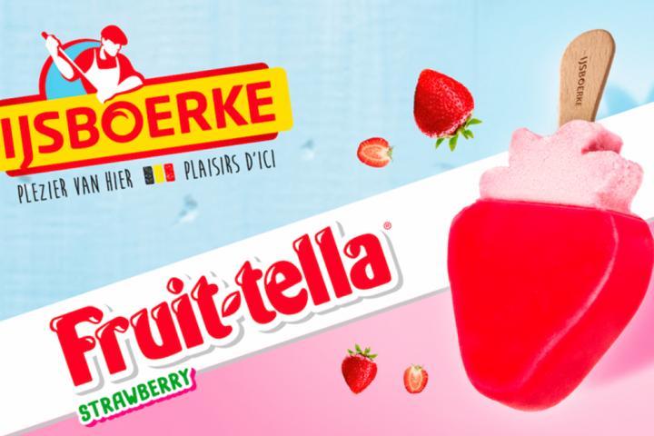 Fruittella-ijsjes