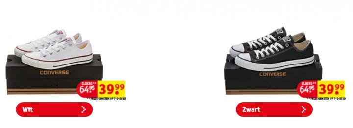dd80292c60979 BON PLAN  Kruidvat vend des Converse à prix cassés