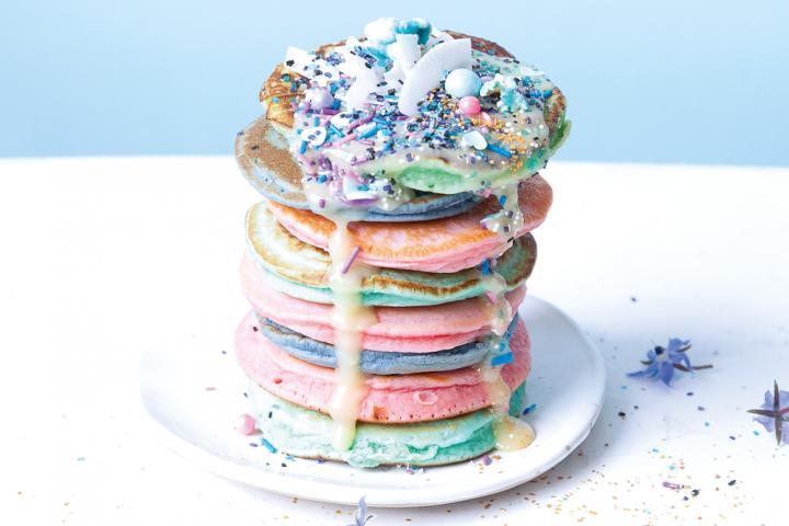 unicorn pancakes