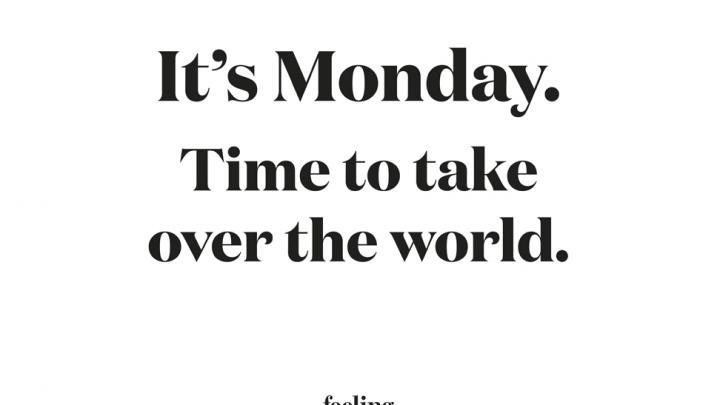 Dankzij Deze 10 Monday Morning Quotes Neem Jij Een Kickstart