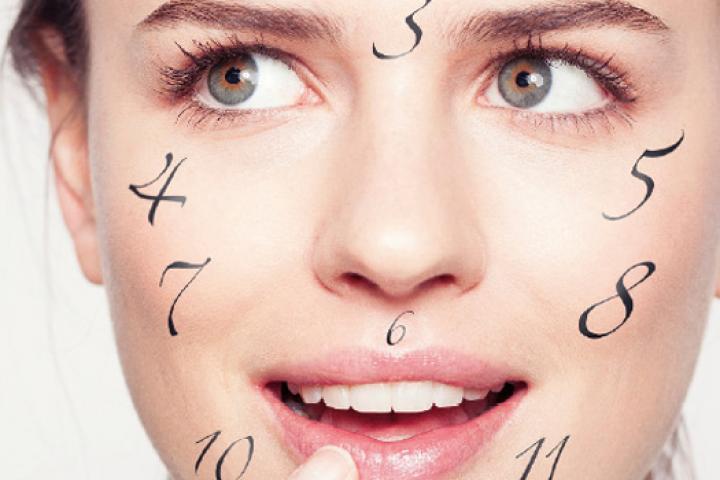last van acne op gezicht