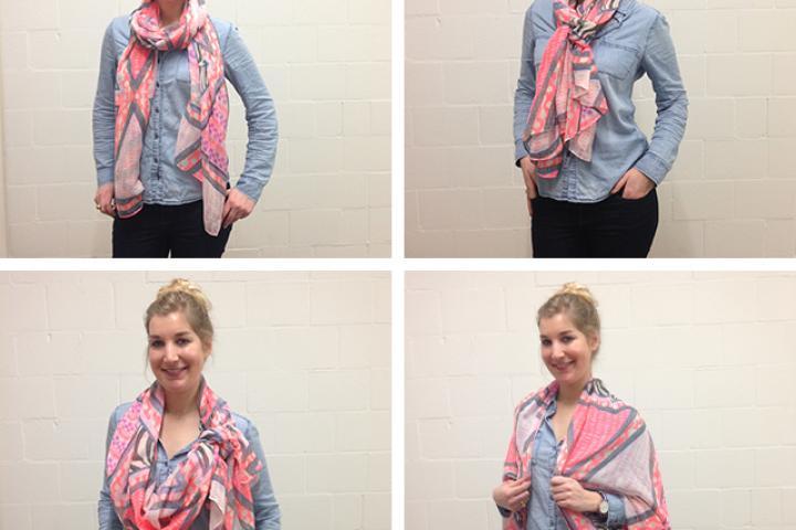 6 manières de nouer un foulard a0b29a2044b