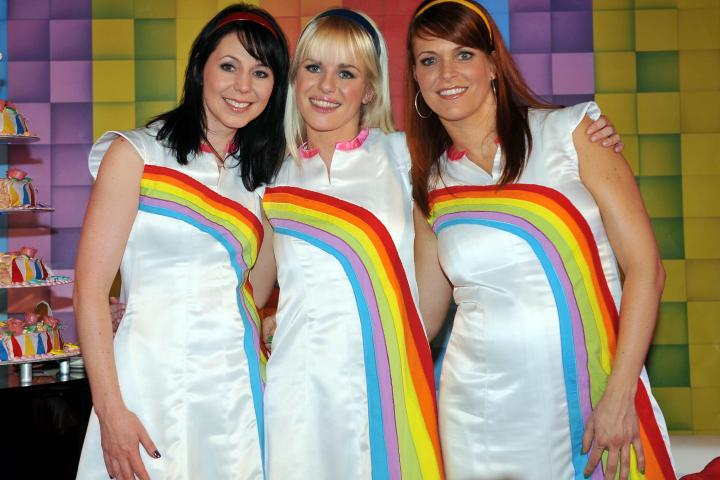 k3 regenboog jurk volwassenen jbc