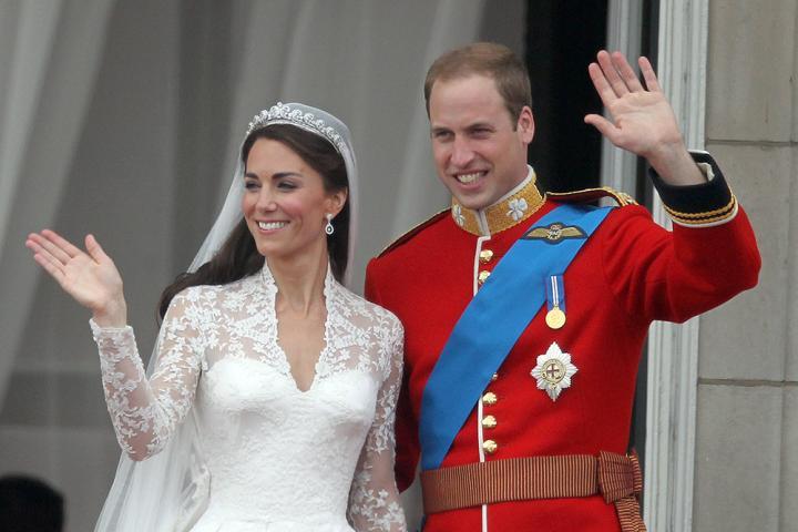 7fc3f465739 La robe de mariée de Kate Middleton