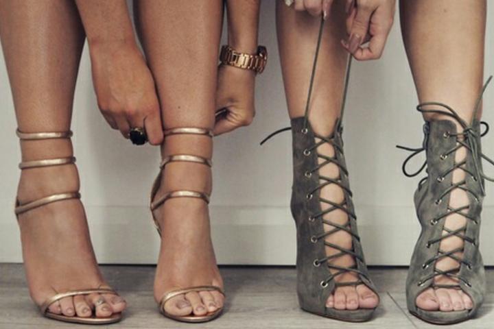 Lacets Notre De Mode Sur Coup Sandales Cœur À Les XPikuOZ