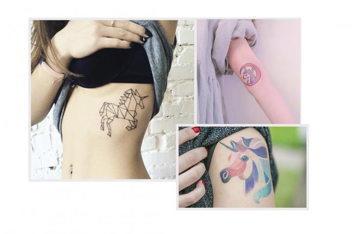 10 Tatouages Trop Mignons Pour Les Fans De Licornes