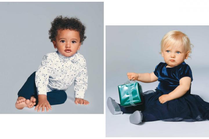 9b4b442f90606 Noël: une tenue mignonne à croquer pour bébé
