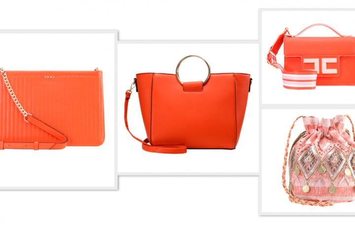 b6b7da5ea6 Le sac à main orange, un it bag repéré sur les catwalks
