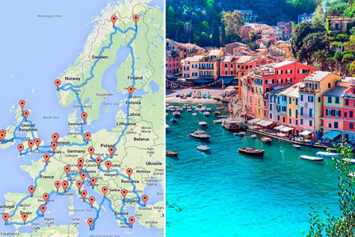 Zalig Dit Is Dé Ultieme Roadtrip Door Europa