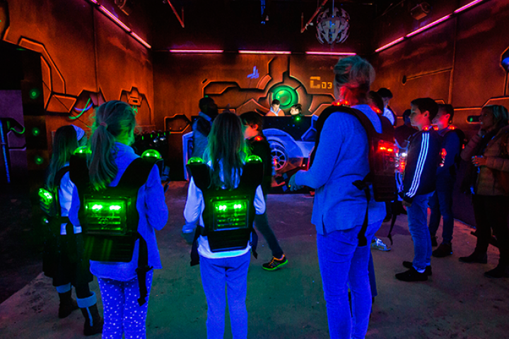On A Test 233 Le Space Laser Game 224 Etterbeek